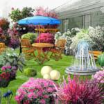 Prace w programie do projektowania ogrodów
