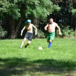Mecz Piłki nożnej w Ośrodku