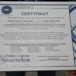 Certyfikat Snoezelen dla PŚDS